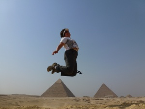 Giza Plateau joy