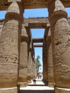 The Great Hypostyle Hall at Karnak
