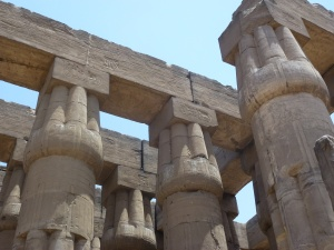 Colonnades at Luxor