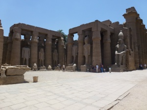 Courtyard at Luxor Temple