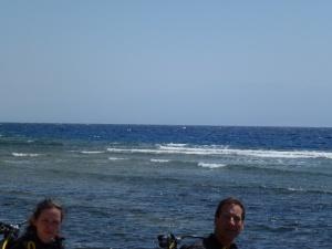 Diving in Dahab