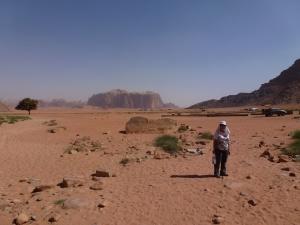 At Wadi Rum