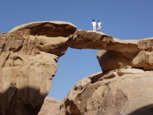"""Bridge"" at Wadi Rum"