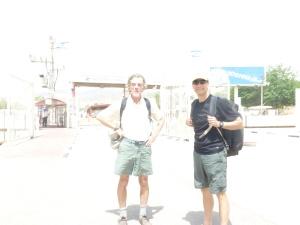 Jim and I at the Jordan/Israel border
