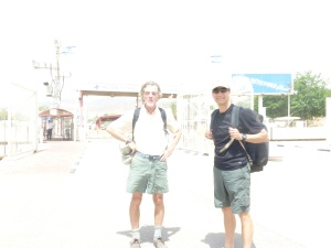 Jim and I at the Jordan/Israel border