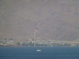 Aqaba, Jordan from our guesthouse
