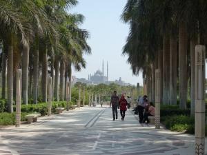 Mohammed Ali Mosque from El Azhar Park