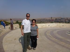 At the pinnacle of El Azhar Park
