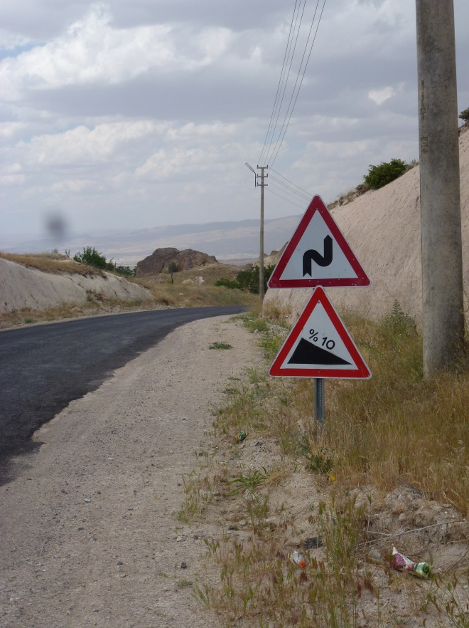 Urgup/Goreme road.