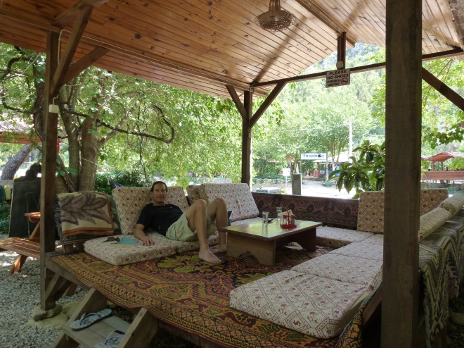 Chillin' at Saban Cabins, Olympos