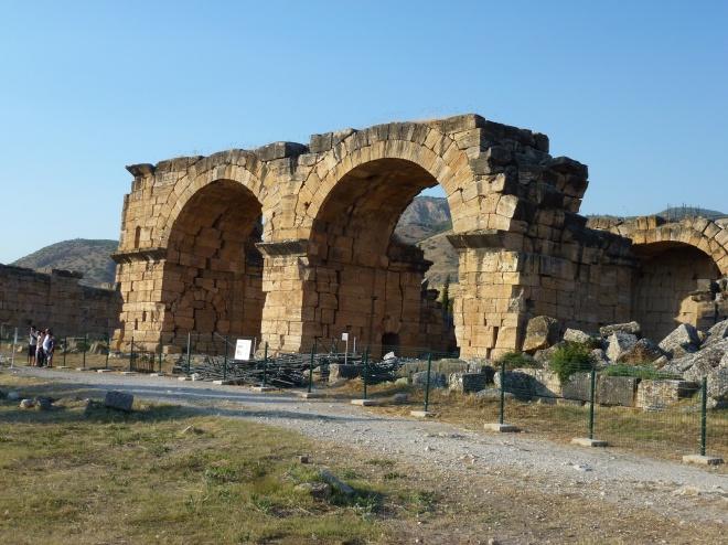 Entrance to the Roman baths