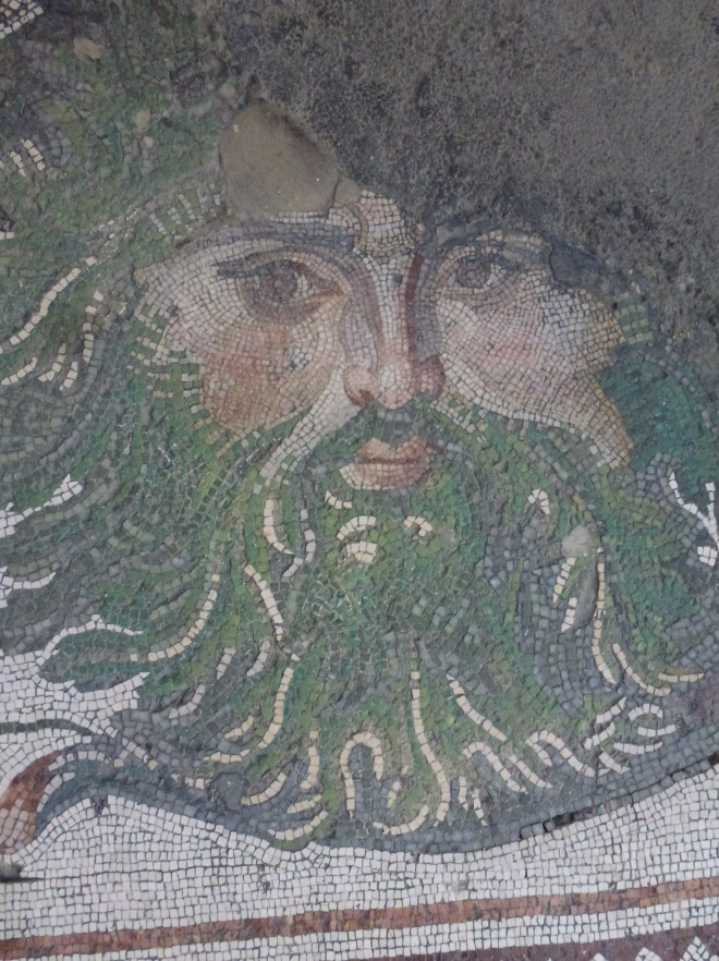 Right up close at the Museum of Mosaics