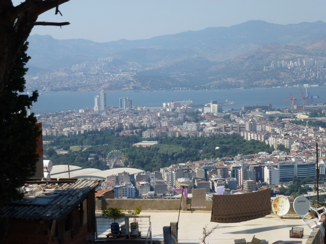 View of Izmir from Kadifekale