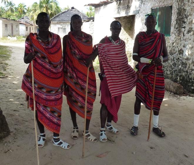Maasai in da 'hood