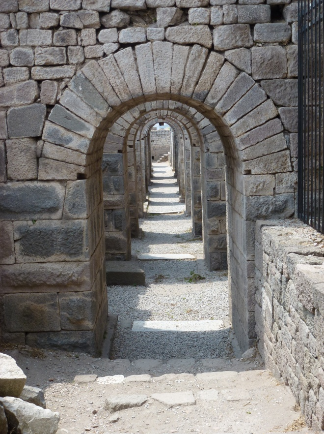 Treasury hall at Bergama