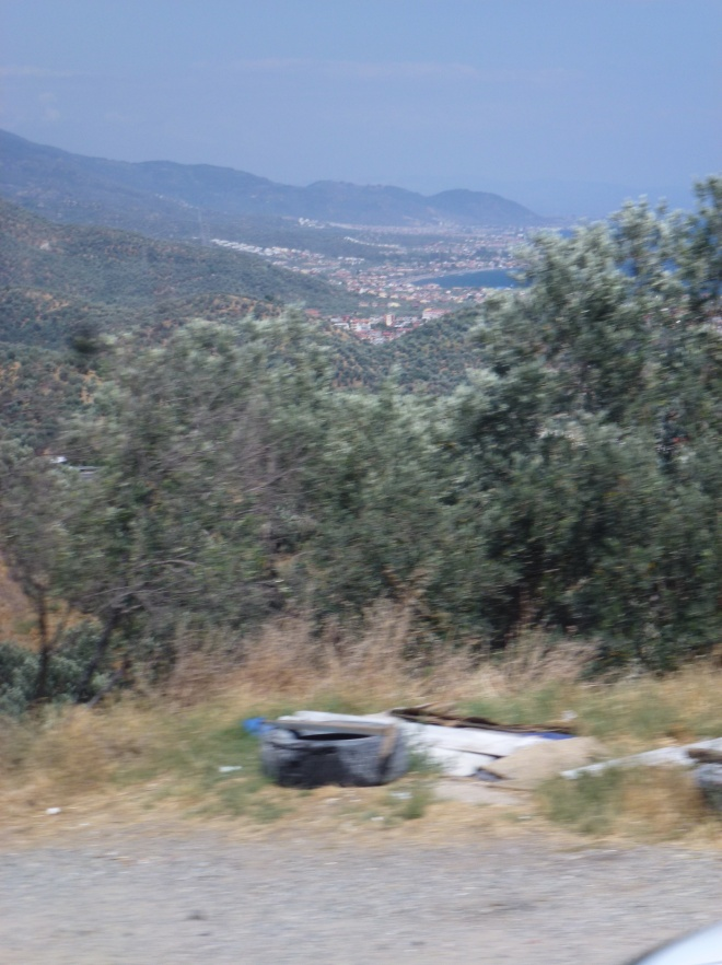 On the road to Canakkale