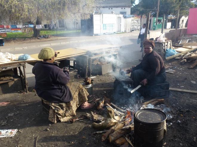 Cooking local delicacies