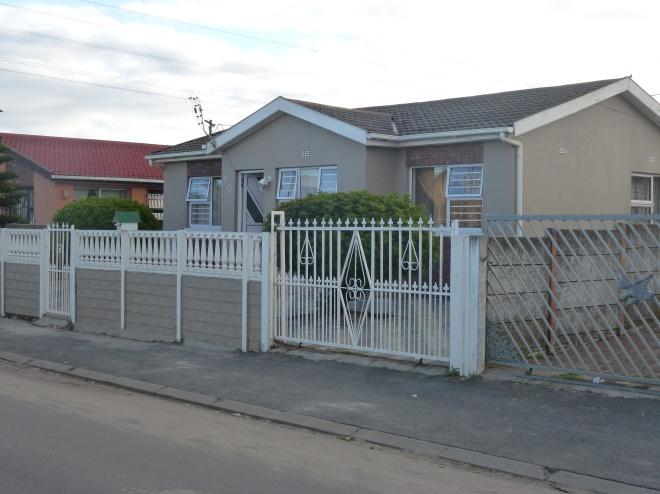 High income housing at Langa