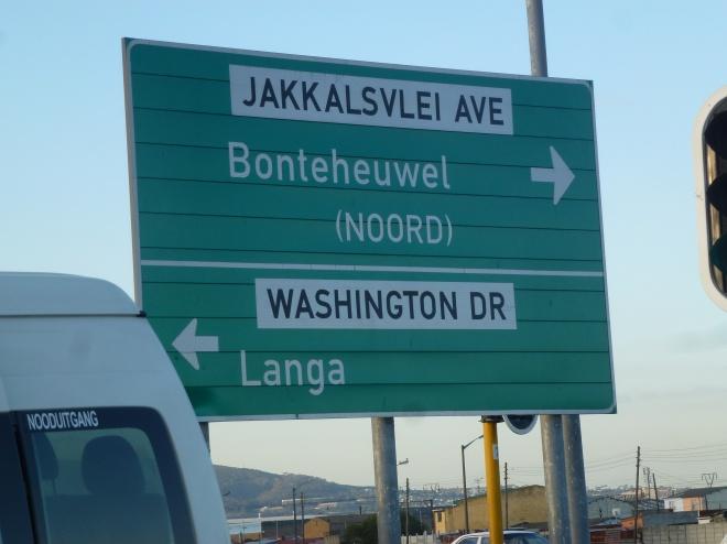 Townships border