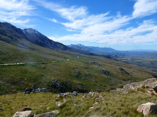 Headed up the Swartberg pass