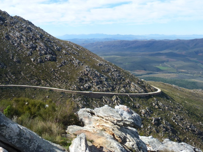 Still headed up the Swartberg pass