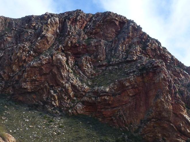 Quartzite formations