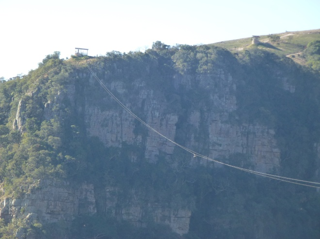 Longest zip-line across Oribi Gorge