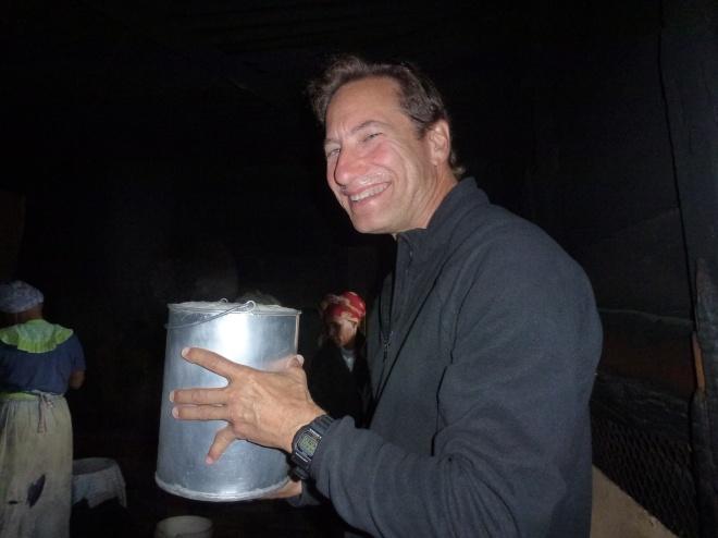 Tasting some Langa home-brew