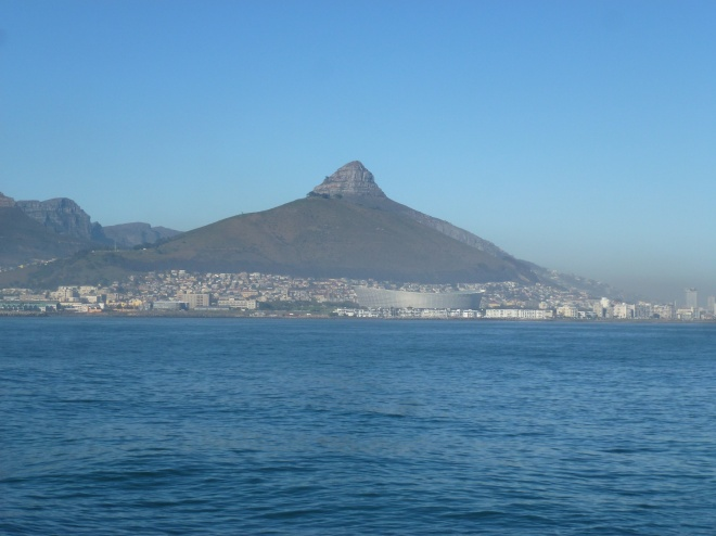 Lion's Head. Conspicuously looking like a nipple, or what ?
