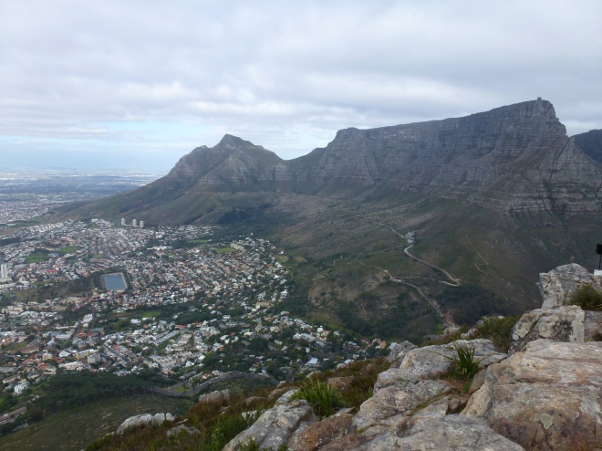 A View from Lion's Head summit
