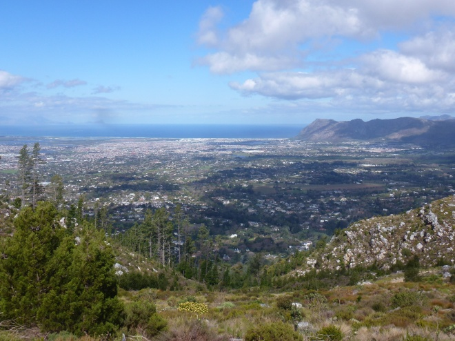 Looking south from Constantia Nek