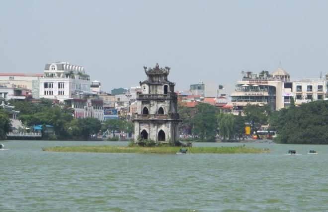 Turtle Tower, Hoan Kiem Lake, Hanoi