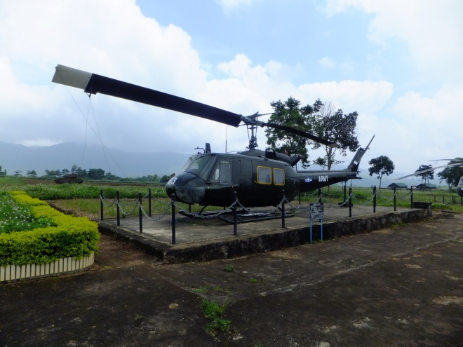"The Bell UH-1, popularly known as the ""Huey"""