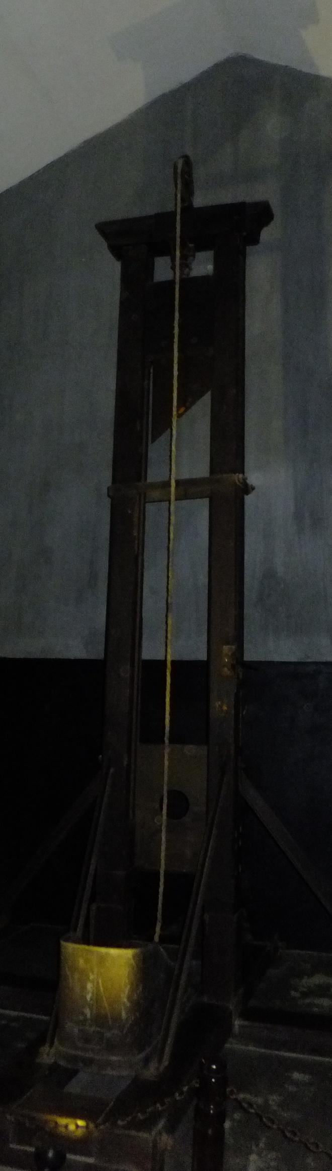 Guillotine at Hoa Lo prison