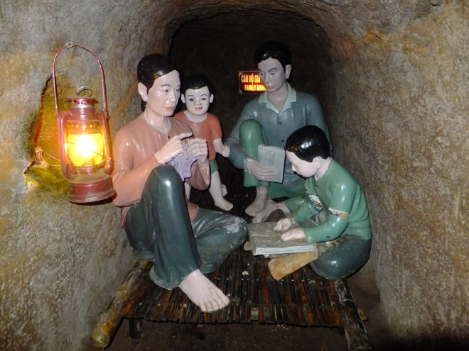 Underground life in Vinh Moc tunnels