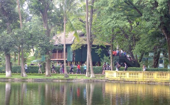 Uncle Ho's stilt house