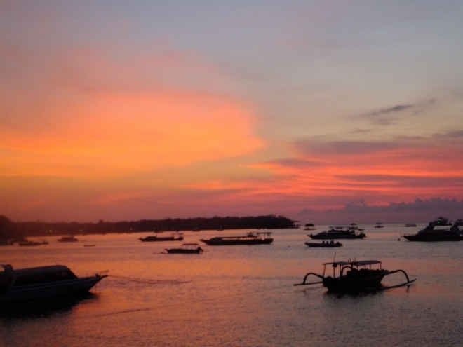 Nusa Lembongan is famous for its sunsets