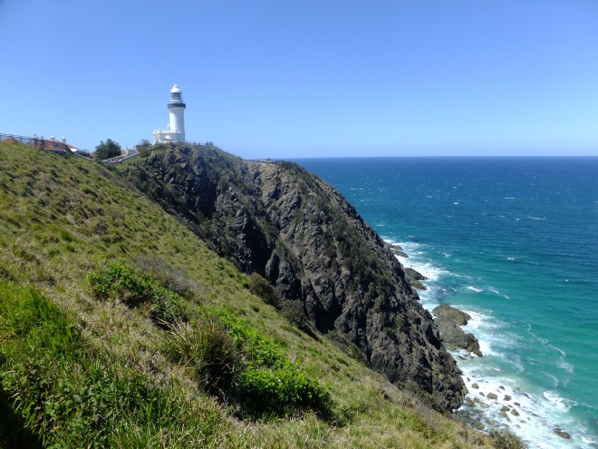 Byron Bay Lighthouse on the furthest point East in Australia.