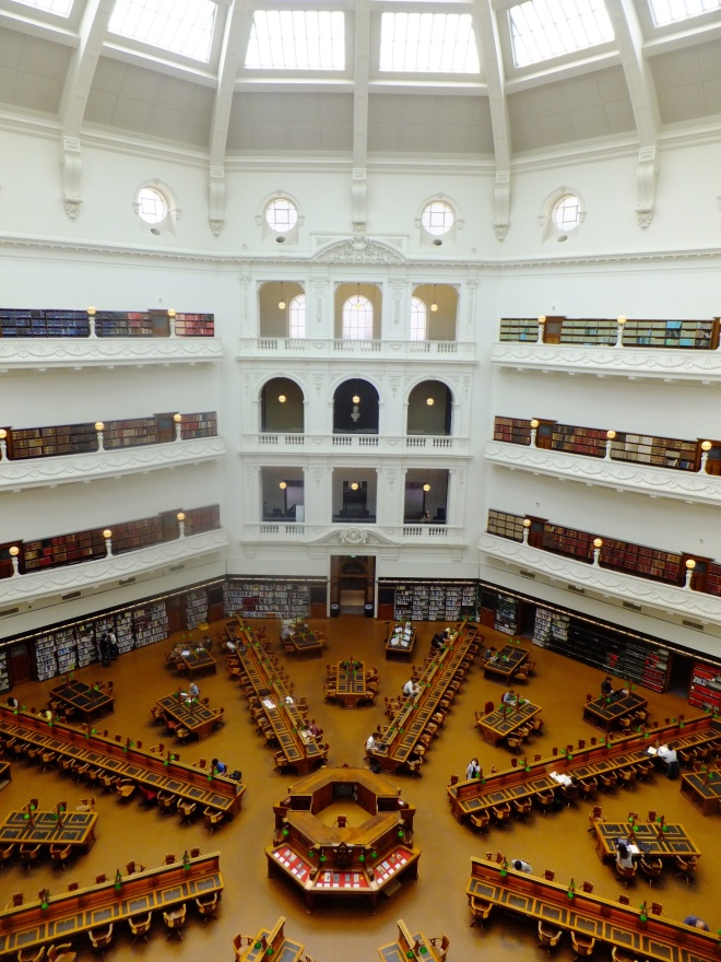 The LaTrobe room of the State Library