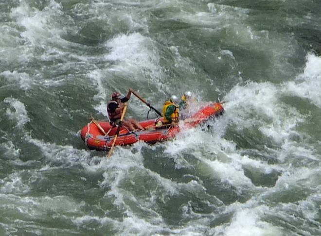 ww rafting splash
