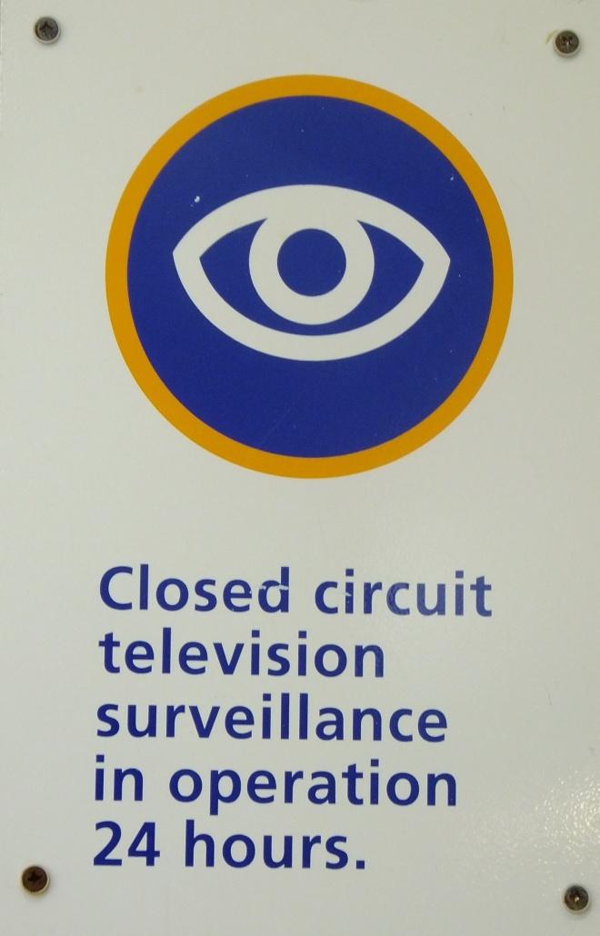 closed circuit sign