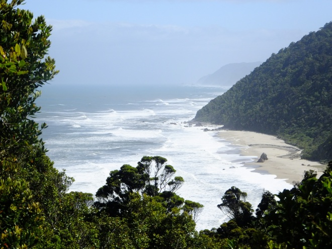 Scotts Beach along the Heaphy Track