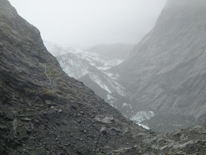 Franz Josef Glacier. Receding faster than my hairline.