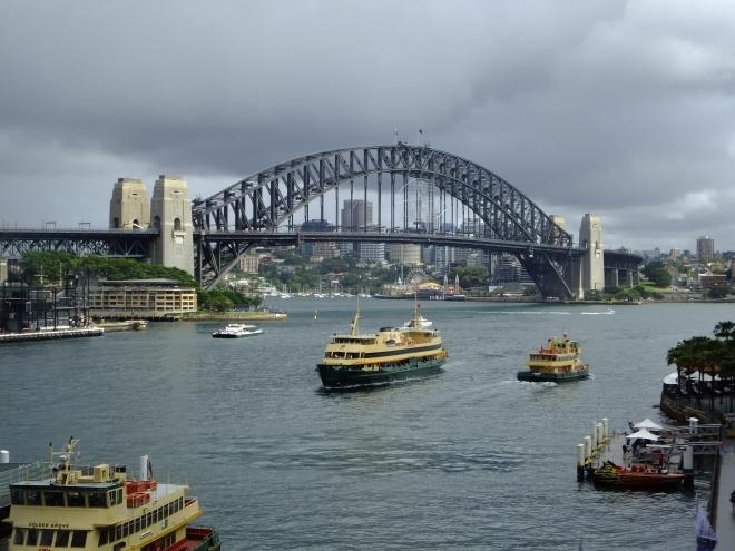 The Sydney Harbor Bridge, aka The Coat Hanger.