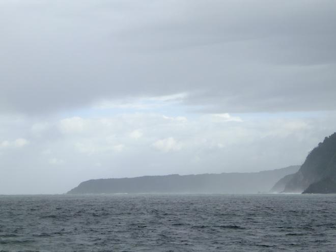 The Sound meets the Tasman Sea