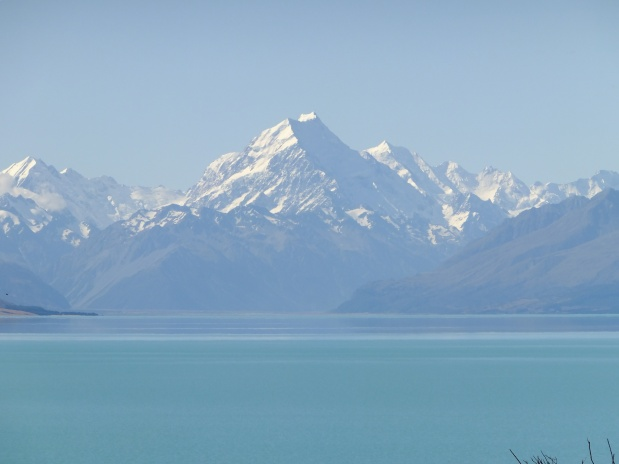 Mt. Cook and Lake Tekapo