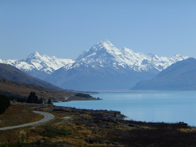 Mt. Cook and Tasman Lake