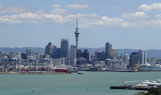 auckland from water