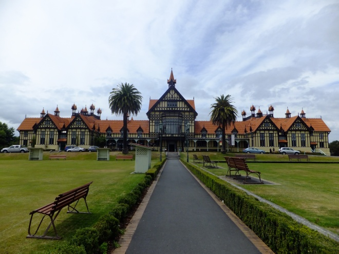 The museum is the most photographed building in New Zealand
