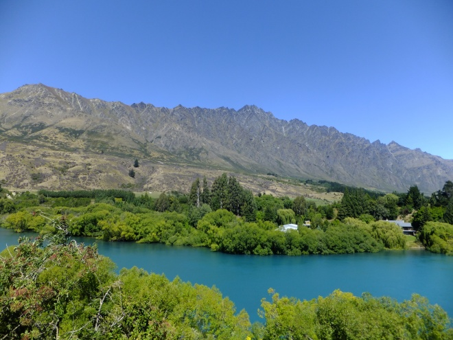 The Shotover River and The Remarkables